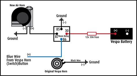 modern vespa tutorial installing a stebel airhorn on a