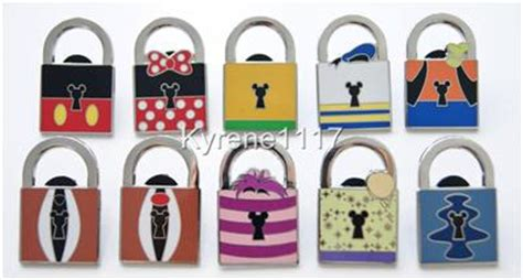Pinset 1 Set disney world pwp mystery character locks collection
