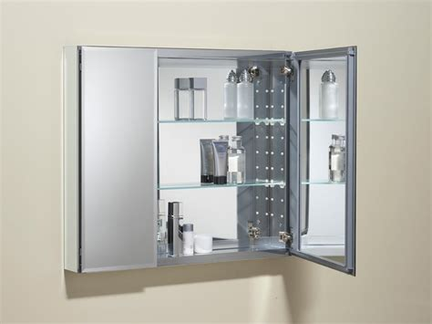 mirror cabinet for bathroom amazon com kohler k cb clc3026fs 30 by 26 by 5 inch double door aluminum cabinet home improvement