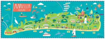 florida map amelia island they draw travel last days of