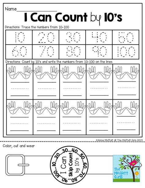 Counting By 10 S Worksheets by 17 Best Images About Counting By 2 S 5 S 10 S Etc On