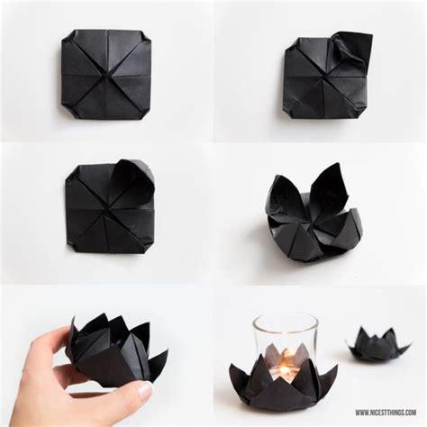 origami kerzenhalter diy origami lotusbl 252 te und meditation mit