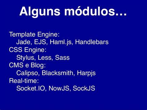 jade template engine conhecendo mundo node js