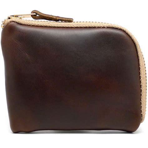 Change Gift Card For Cash - daluca men s leather zip wallet brown chromexcel swish wallets