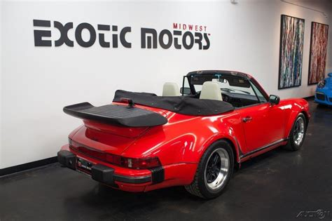 porsche 911 930 for sale 1987 porsche 911 930 turbo cabriolet for sale