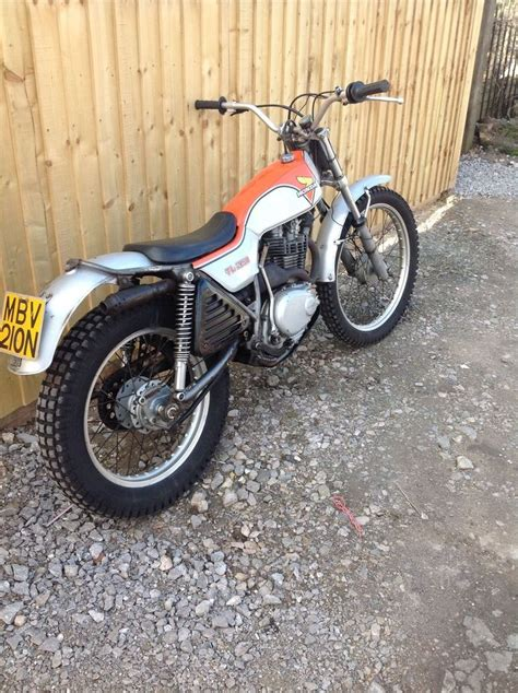 ebay motocross bikes honda tl 250 trials motorcycle honda motorcycles and ebay
