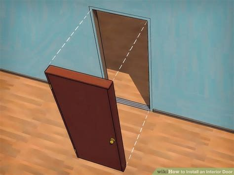 install an interior door how to install an interior door 6 steps with pictures