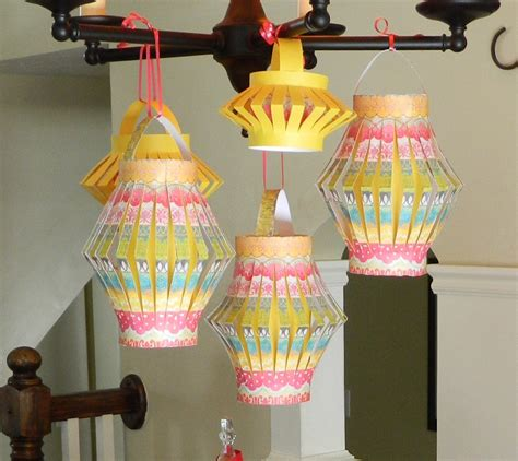Paper Lantern Make - how to make paper lanterns jam