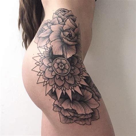 tattoo mandala no quadril dark and eerie creature tattoos by russian artist veriy