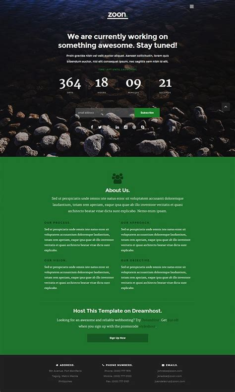 free construction website templates html 21 free coming soon construction html web templates