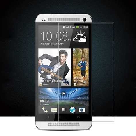Mak Tempered Glass 2 5d Htc One M7 2 pcs hd tempered glass screen protector for htc one m7 0