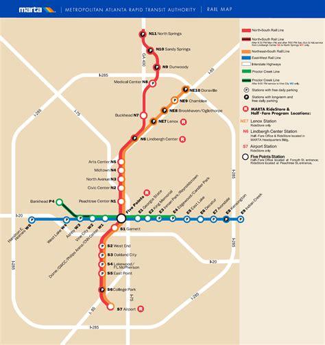united states map atlanta metro map of atlanta metro maps of united states