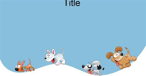 dog powerpoint template 17 แจก powerpoint template สวยๆ