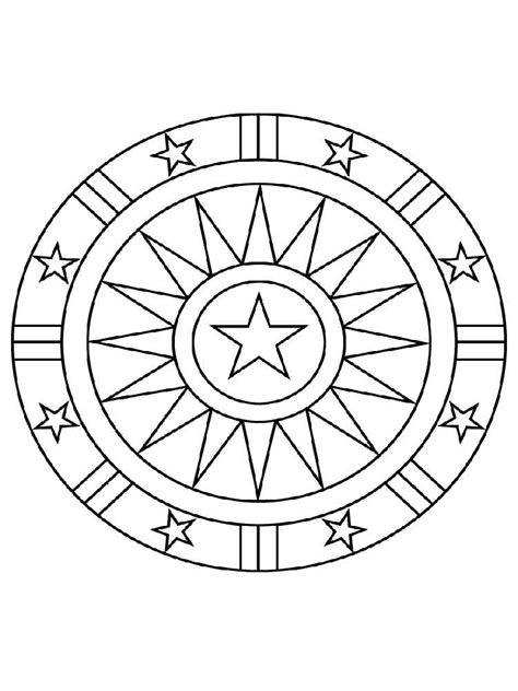 easy mandala coloring pages for adults simple mandala coloring pages for adults free printable