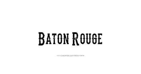 tattoo removal in baton rouge baton usa capital city name designs page 4