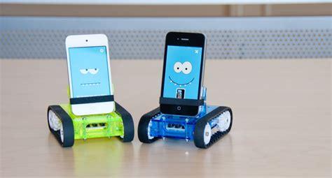 Mainan Robot Mobile Telephone romo smart phone robot