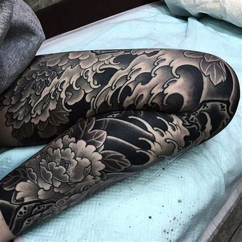 japanese leg tattoo designs japanese leg curatrdtattoos tattoos