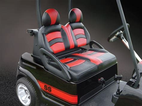Golf Cart Upholstery by Gallery El Tigre Custom Golf Cart Seats Golf Cart Seats