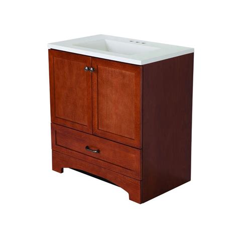 glacier bay bathroom vanities glacier bay all in one 30 in w vanity combo in with cultured marble vanity top in white