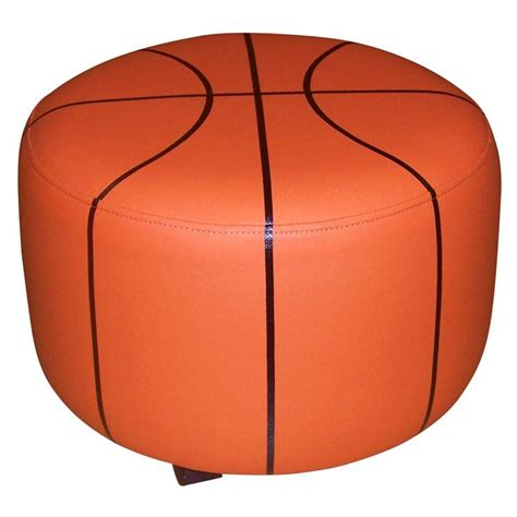 basketball chair and ottoman basketball ottoman mason s big boy room pinterest