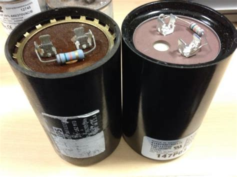 trane ac start capacitor question about replacing capacitor on trane xl 1200 condensor doityourself community forums