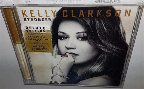 Cd Clarkson Stronger Deluxe Edition 1 clarkson stronger deluxe edition 2011 brand new