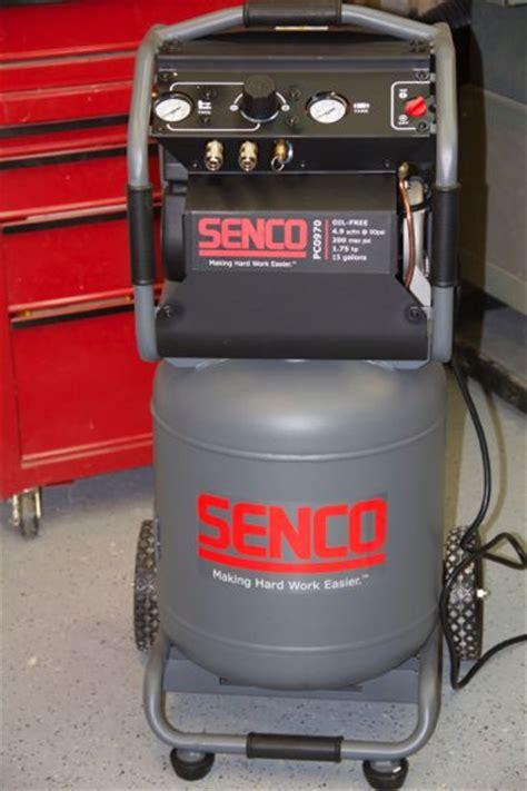 senco  gallon air compressor pc tool box buzz tool