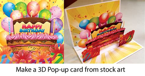 how to make amazing pop up cards how to make an awesome pop up birthday card with stock