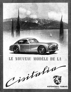 Motor Historia: La Historia de Cisitalia
