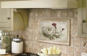 Country Kitchen Backsplash Tiles Cool Tile Backsplash Mural My Country Kitchen