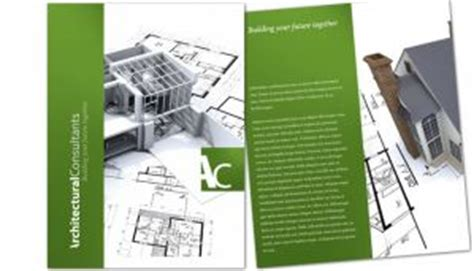 custom layout design engineer tri fold brochure template for architect engineering firm