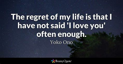 You Ll Be Sorry When You See Me the regret of my is that i not said i you