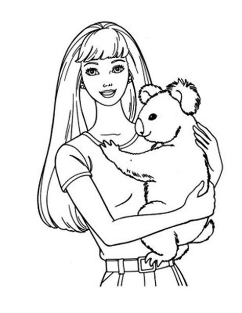 barbie coloring pages coloring pages to print