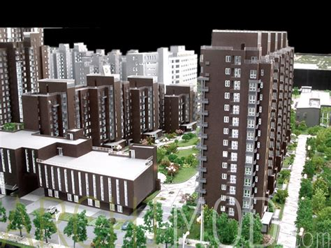 White Apartment index of images multi family residential complex models