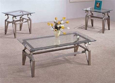 Glass Coffee Table And End Table Set Beautiful Coffee Table End Table Set 3pc Coffee Table End Table Set Glass Top In Cappuccino