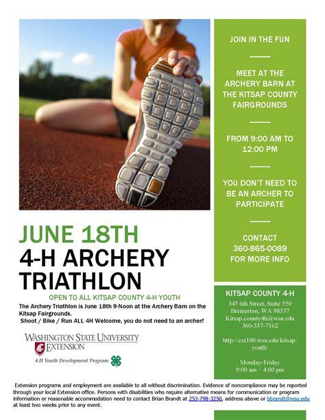 archery triathlon kitsap county washington state