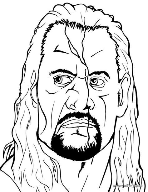 imagenes para colorear wwe dibujos para colorear the undertaker el luchador wwe es