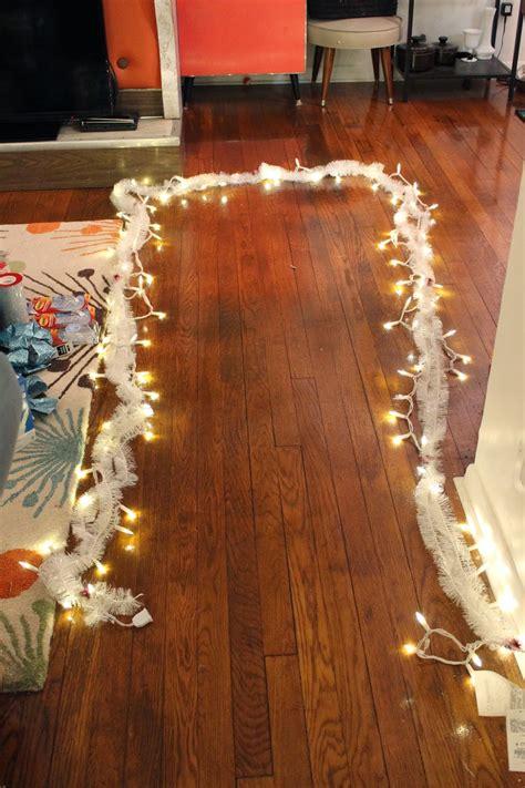 lola tangled      deco mesh door garland