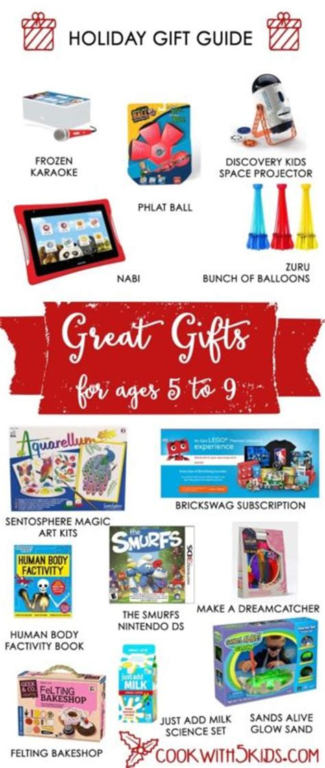holiday gift guide for ages 5 9 cookwith5kids