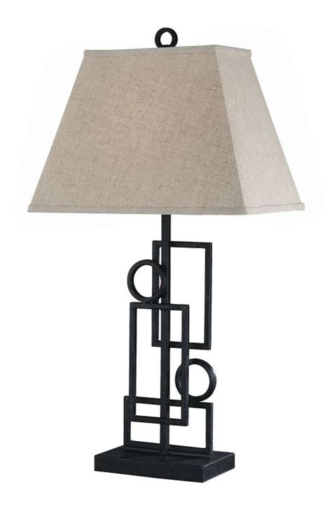Wrought Iron Table Ls Lite Source Ls 21207 Wrought Iron 1 Light Wrought Iron Table L With Fabric Shade From The