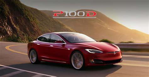T Tesla Tesla Crowns 2017 Model S P100d As World S