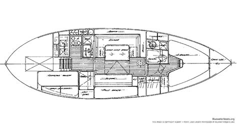 sailboat layout the tayana 37 sailboat bluewaterboats org