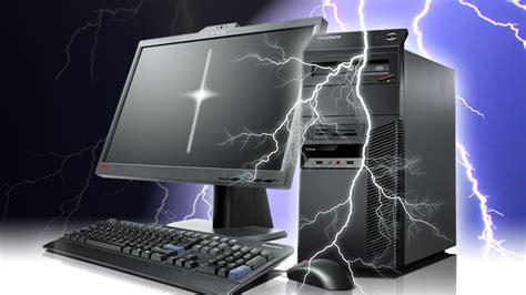 blitzeinschlag computer und fernseher vor blitzschaeden