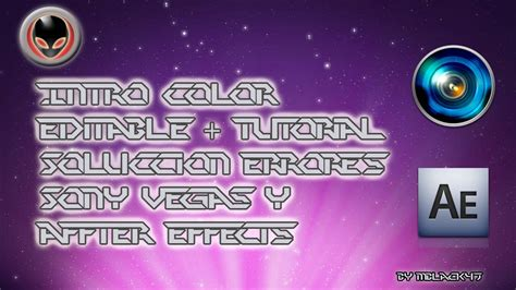 Intro Editable Free Template After Effects Y Sony Vegas Youtube Editable After Effects Templates Free