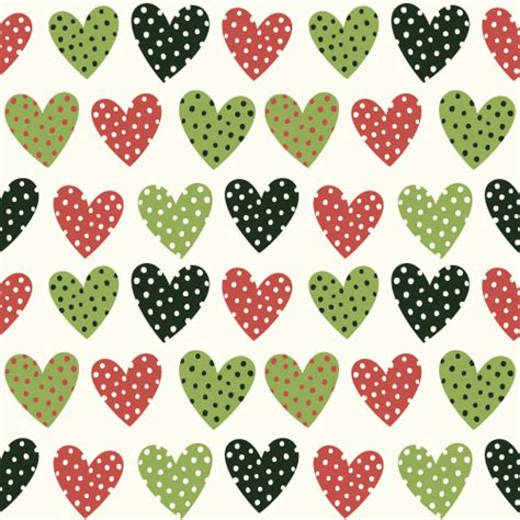 heart shaped pattern code retro seamless hearts pattern vectors graphic 06 vector