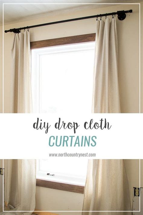 drop cloth curtain best 25 drop cloth curtains ideas on pinterest drop