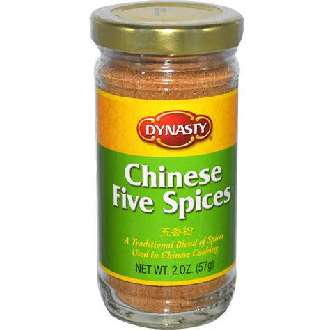 dynasty chinese five spices 2 oz 57 g iherb com