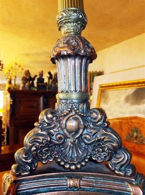Deco Kunst 4421 by Schmiedeeisen Rost Kerzen Stand Boden Tisch Leuchter Alt