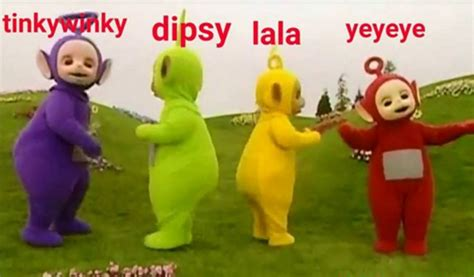 Teletubbies Meme - gallery memes best collection of funny po gangster