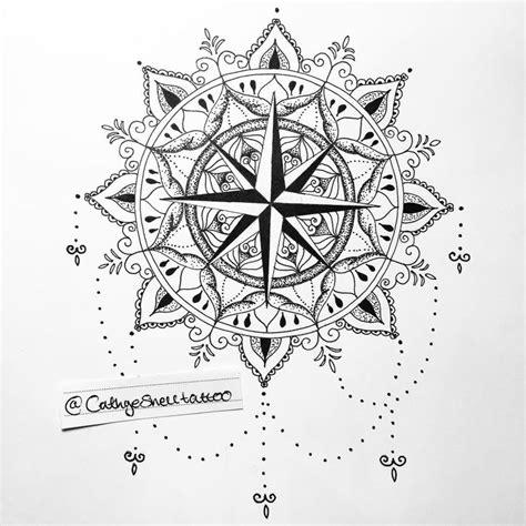 compass tattoo uk the 25 best mandala compass tattoo ideas on pinterest